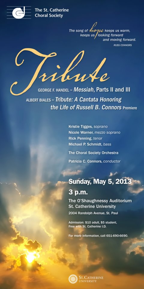 A Cantata Honoring the Life of Russell B. Connors, 1948-2011